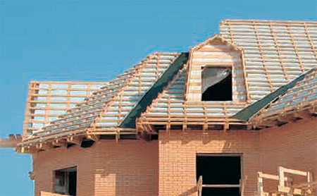 Проекты крыш домов - фото