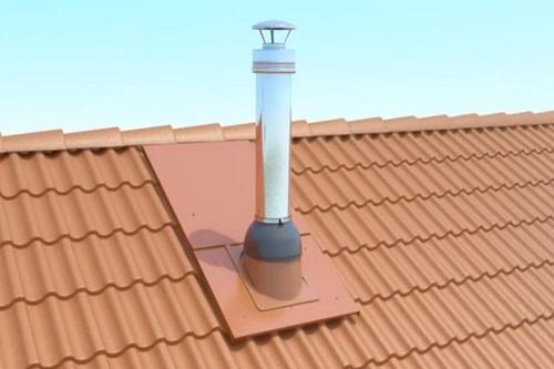 Обход труб для крыши