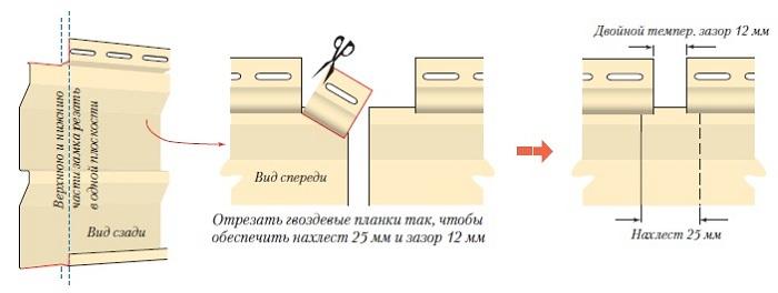 Монтаж фронтона сайдингом своими руками видео инструкция