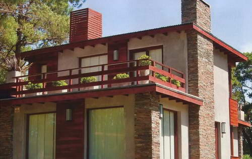 Плоская крыша дома - картинка