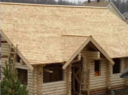 Внешний вид деревянной крыши