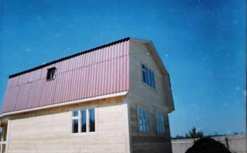 Крыша мансардного типа своими руками