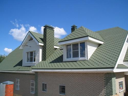 Скатная крыша - фото