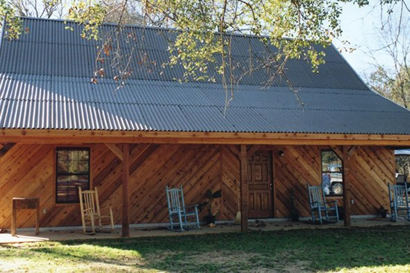 крыша дома из ондулина