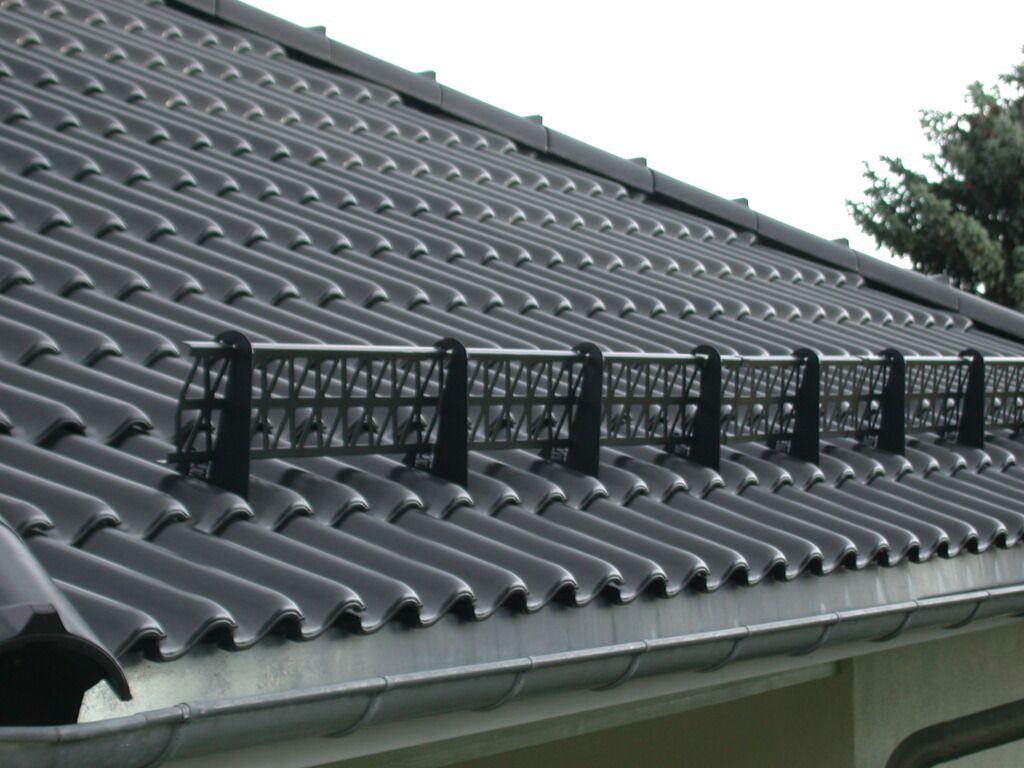 Как и из чего сделать снегозадержание на крыше 813