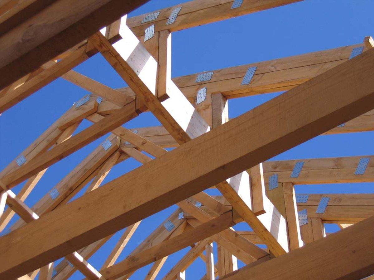 Стропиловка крыши по балкам перекрытия своими руками фото
