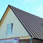Минимальный и оптимальный  уклоны крыши из профлиста