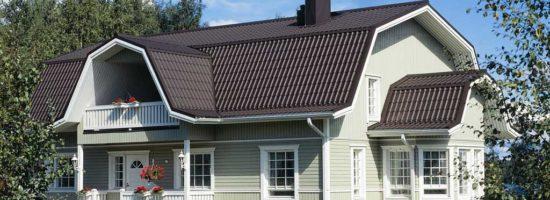 Крыша мансардного типа: виды, варианты