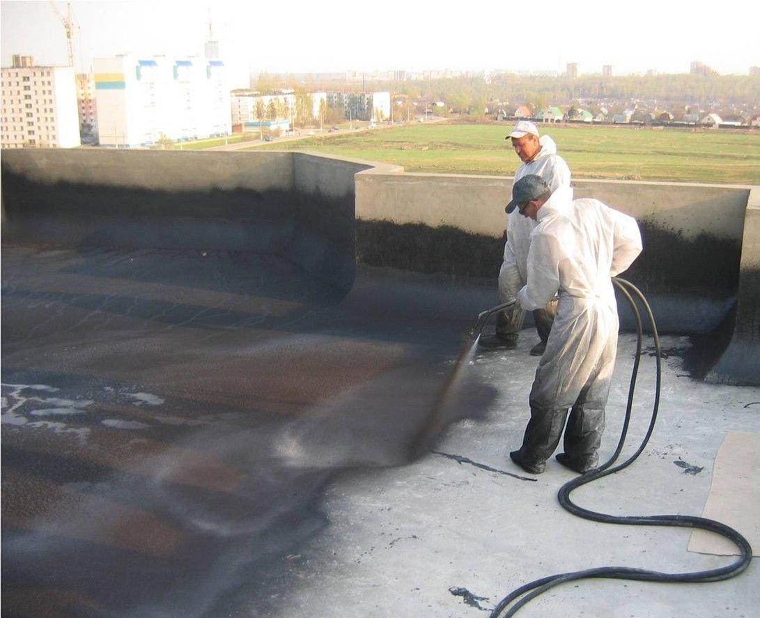 Гидроизоляция крыши жидкой резиной своими руками 79