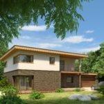 Как грамотно составить проект крыши дома плоского типа?