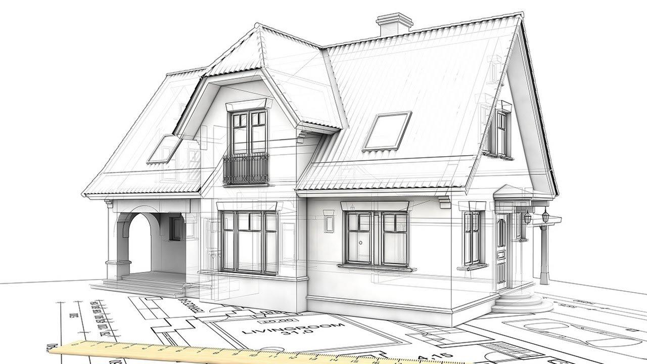 схема крыши с мансардой