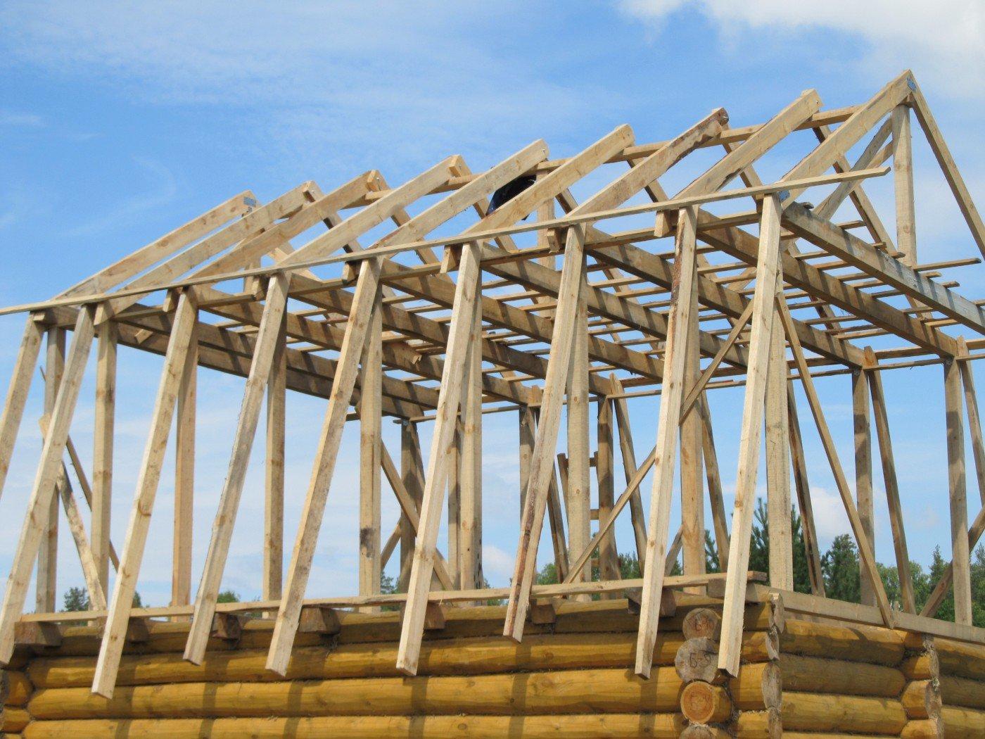 Как сделать ломаную крышу своими руками Строительный портал
