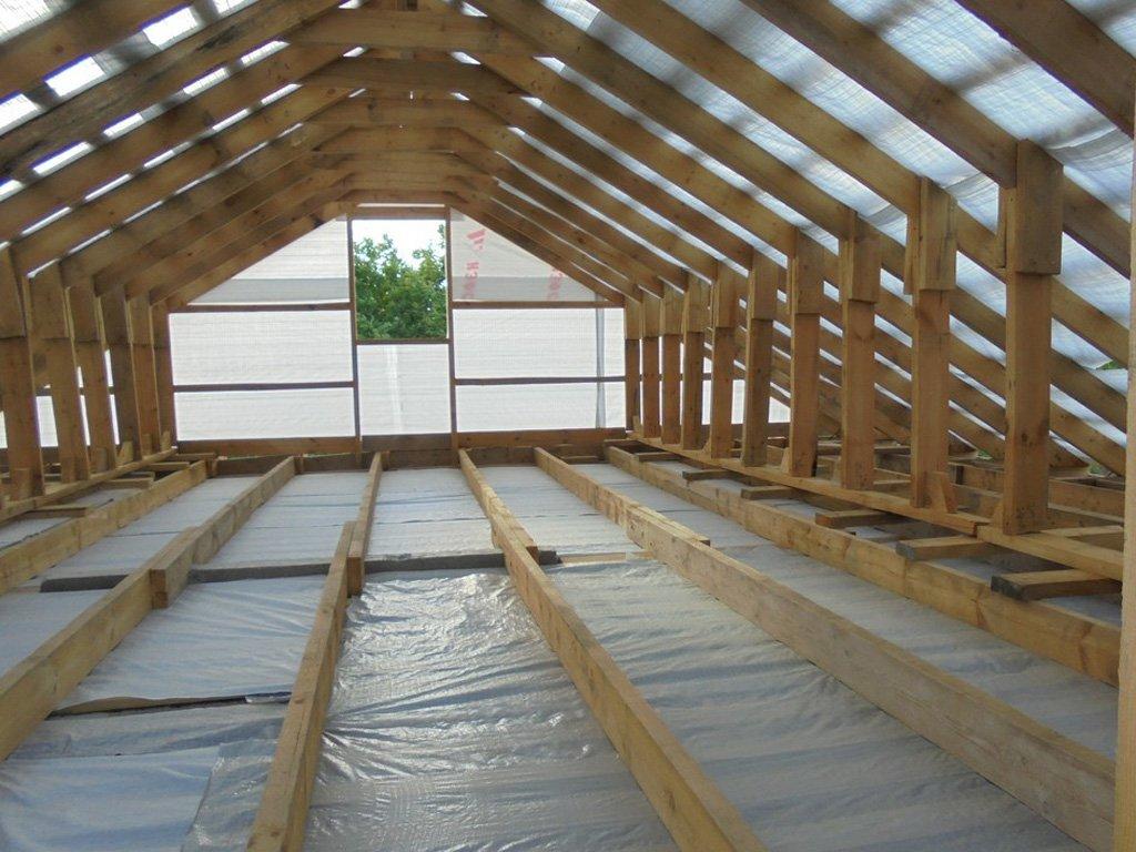 схема крыши дом 2х 4
