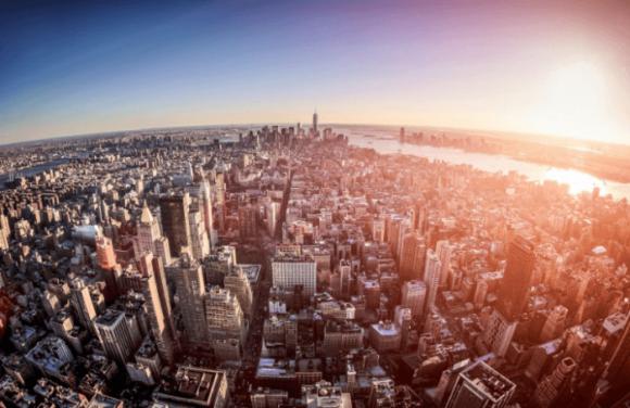 Башня Empire State Building в Нью-Йорке