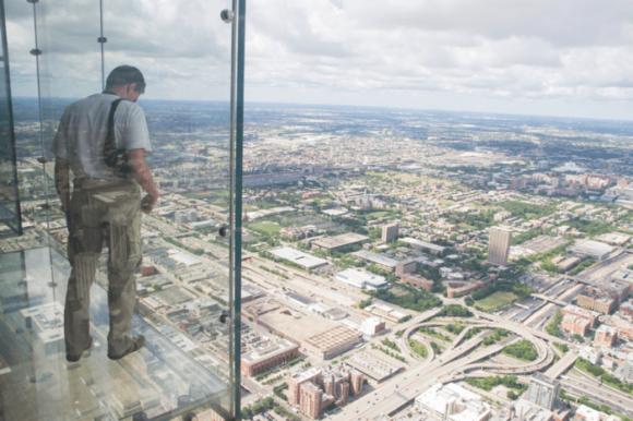 Башня Willis Tower в Чикаго