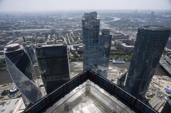 Башня «Империя» в «Москва-Сити»