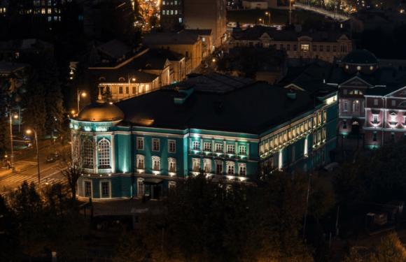 Вид с колокольни Храма Христа Спасителя в Москве