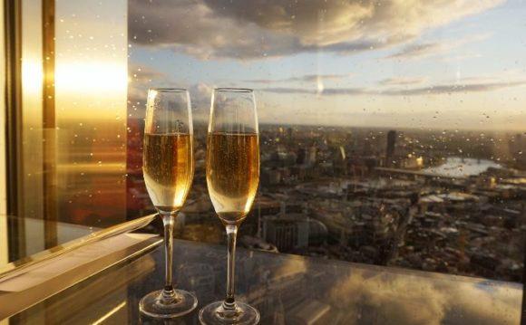 Вид с площадки Tower 42 в Лондоне