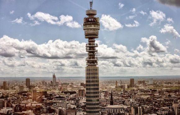 BT Tower в Лондоне