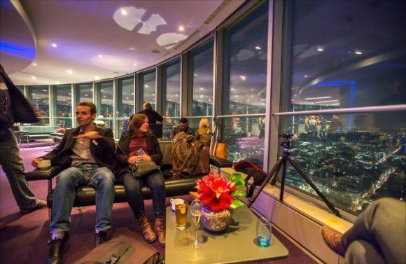 Закрытая смотровая площадка BT Tower в Лондоне