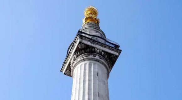 Смотровая площадка Monument в Лондоне