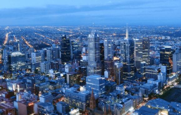 Башня Eureka Tower в Мельбурне