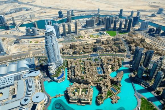 Башня «Бурдж-Халифа» в Дубае