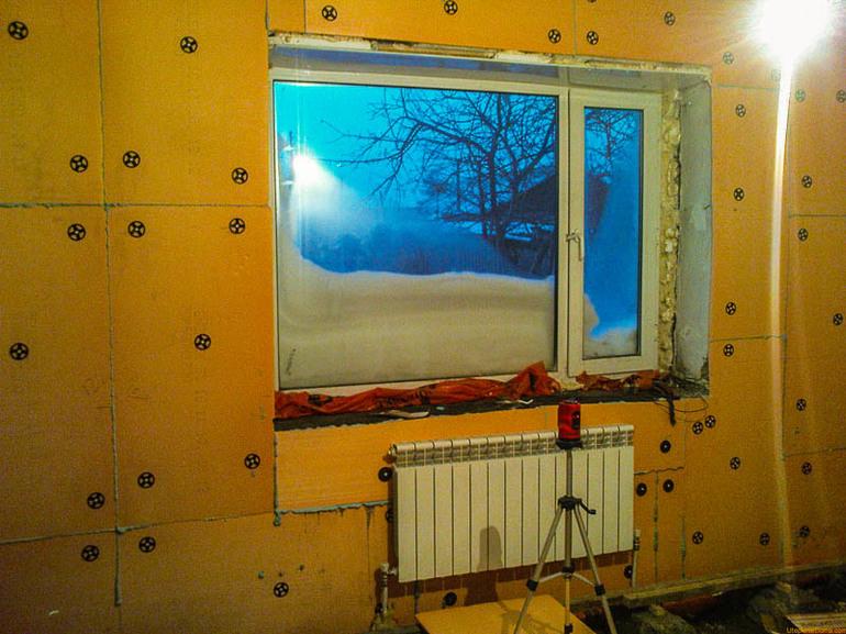 утепление жилых помещений