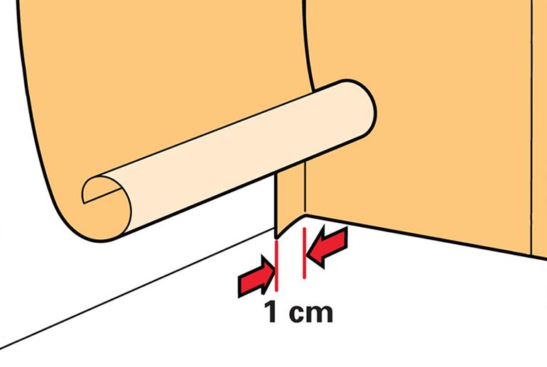Как клеить тонкие фотообои на бумажной основе