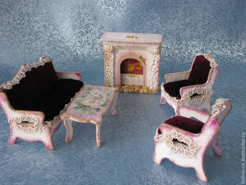 мебель для барби своими руками фото становление