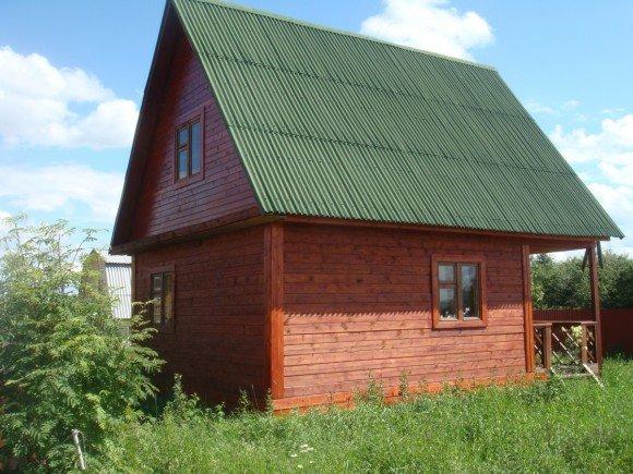 Крыша, облицованная ондулином