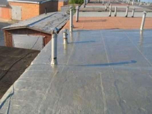 Гидроизоляционная мембрана на крыше гаража