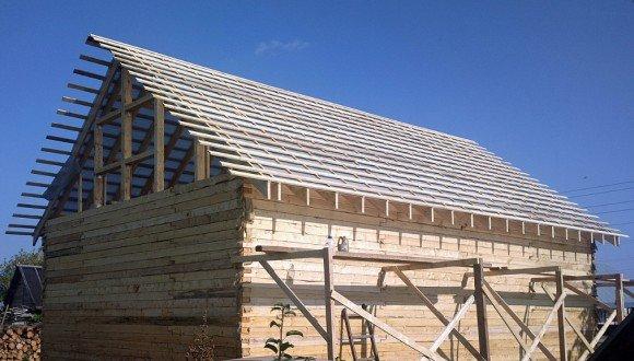 Разреженная обрешётка крыши