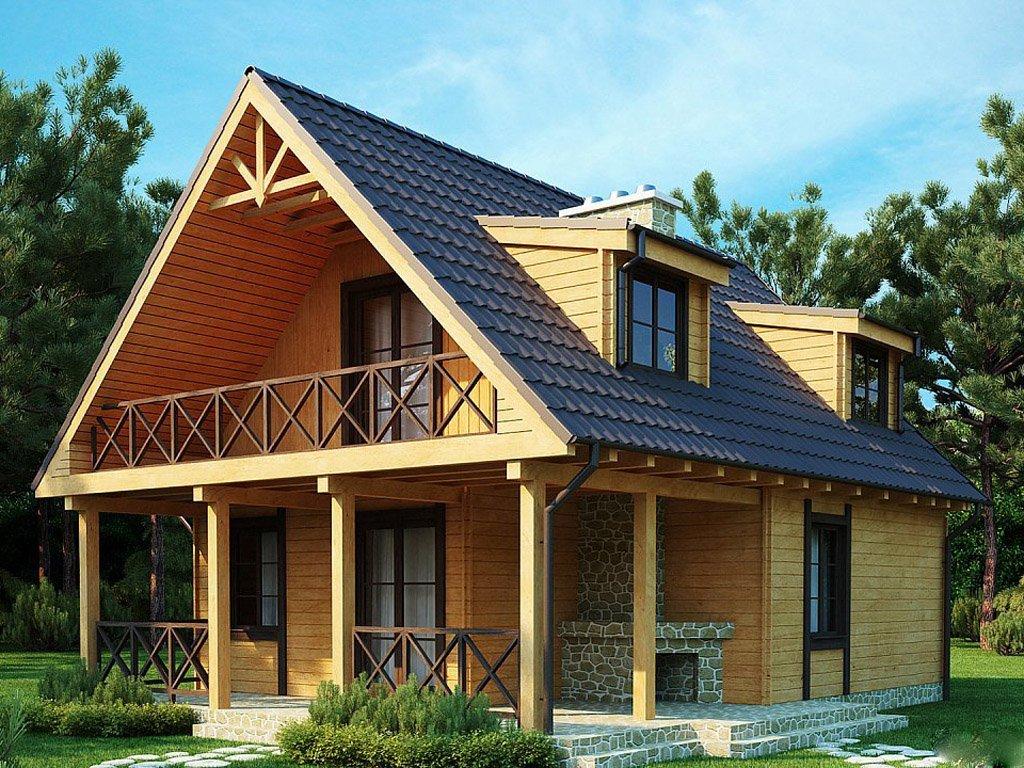 Двускатная мансардная крыша своими руками фото 993