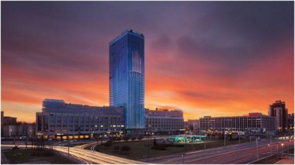 Башня Лидер в Санкт-Петербурге