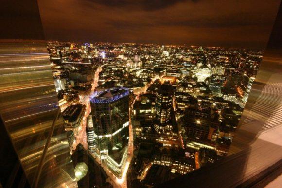 Вид со смотровой площадки Tower 42 в Лондоне