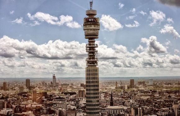 BT Tower в Лондоне
