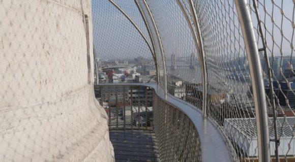 Вид со смотровой площадки Monument в Лондоне