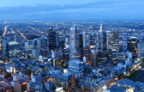 Башня Eureka Tower в Мельбурне