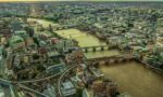 Вид на Лондон с высоты птичьего полета