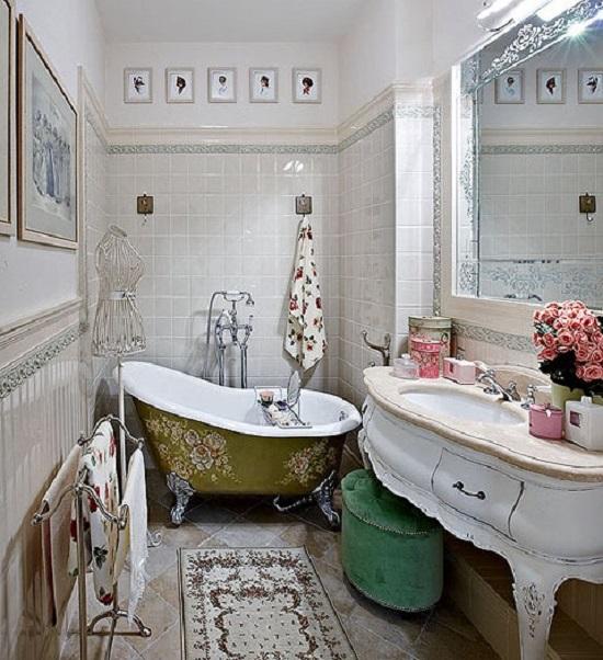 Современный дизайн интерьера маленькой ванной комнаты