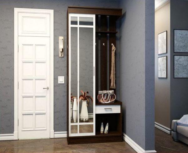 Как спрятать мебель в маленькой прихожей