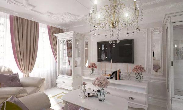 Дизайн квартиры в стиле современная классика