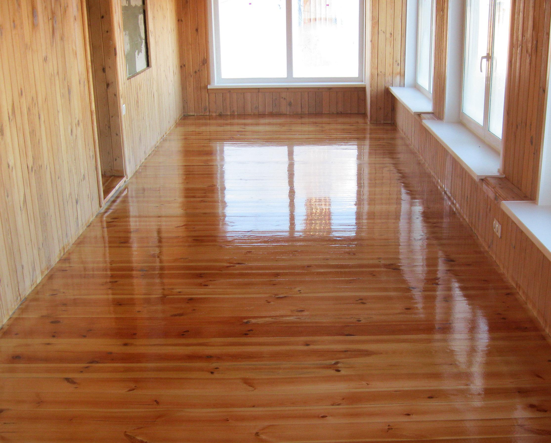 как восстановить деревянный пол