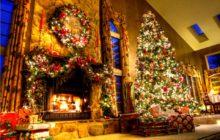 Как украсить комнату на Рождество своими руками