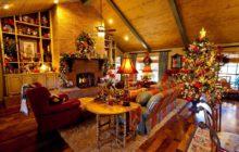 Идеи украшения дома на Рождество своими руками 2019