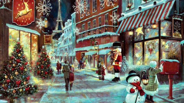 Рождественские картины