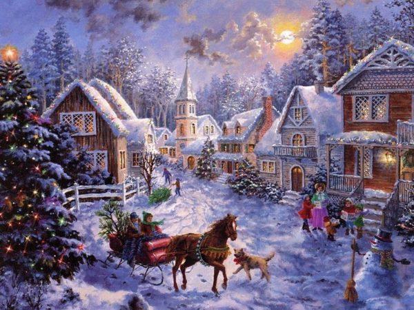 Как украшали дом в Российской империи к православному Рождеству