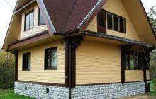 чем обшить деревянный дом