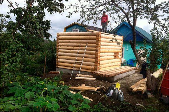 строим баню 3 на 3